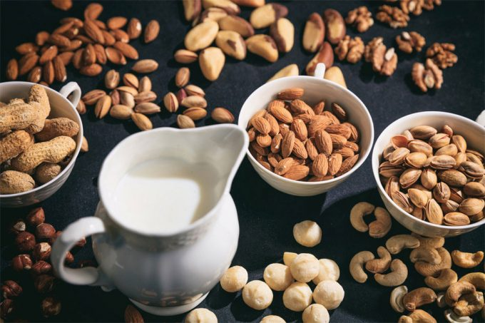 Bebidas vegetales alternativas a la leche de vaca
