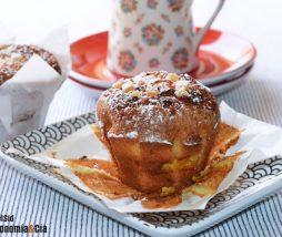 Muffins de pera y jengibre