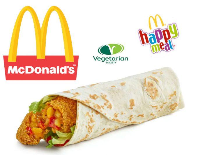 Alimentos vegetarianos en McDonald's