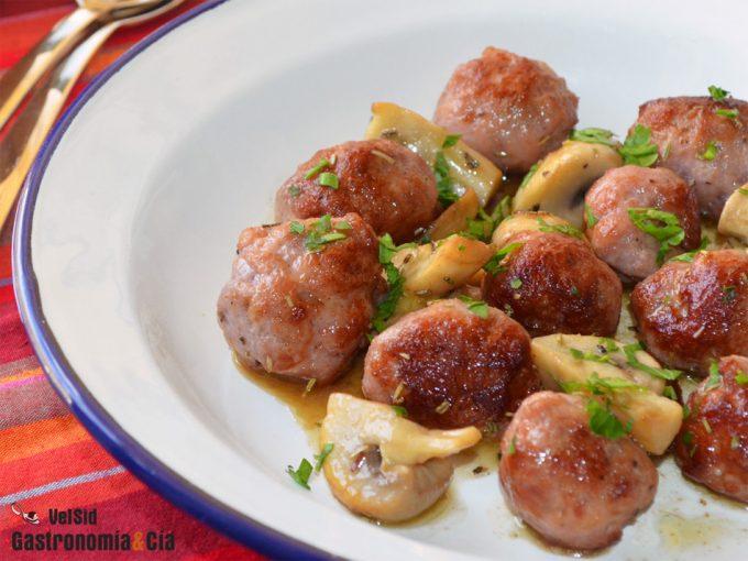 Recetas deliciosas con champiñones
