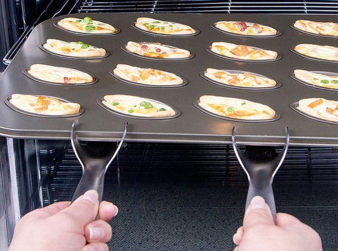 Asas para utensilios de horno