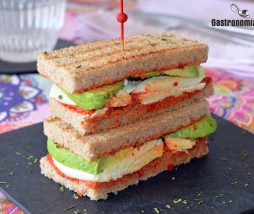 Receta de sándwich sano y rico