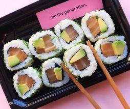 Sushi vegano Ima