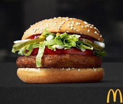 Hamburguesas vegetales en McDonald's