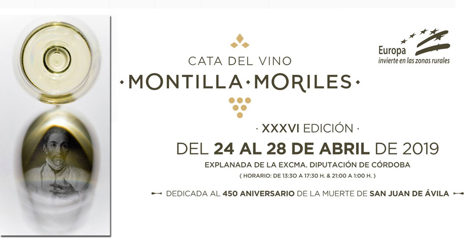 Cata del Vino Montilla-Moriles 2019. Programa de catas guiadas