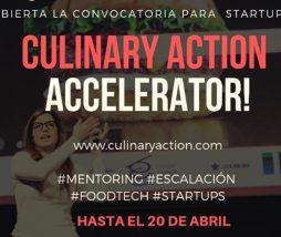 Convocatoria para startups gastronómicas
