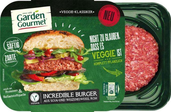 The Garden Gourmet Incredible Burger