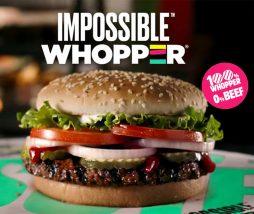 Hamburguesa imposible de Burger King