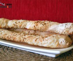 Recetas de colines y bastones de pan