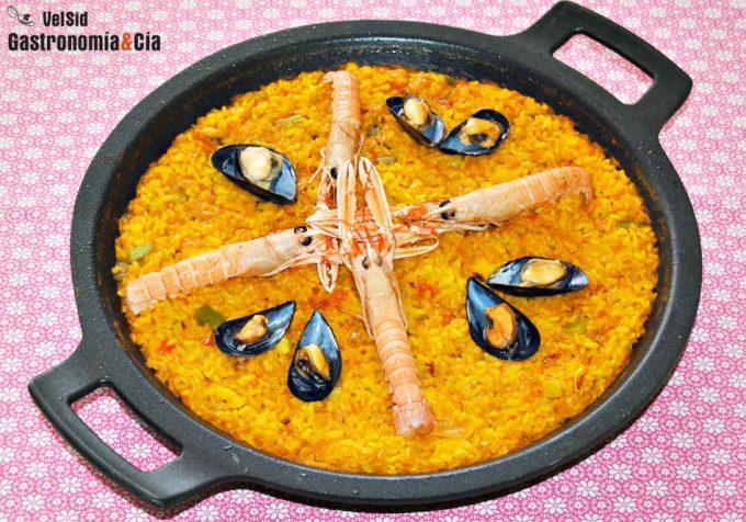 Recetas de arroz y paella