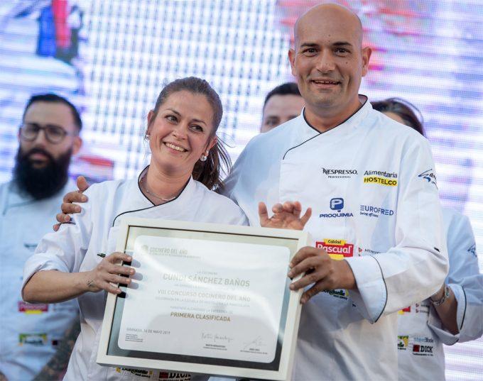 Ganadores de la 2ª semifinal del Concurso Cocinero del Año 2020