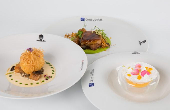 Menú de la 2ª semifinal del Concurso Cocinero del Año 2020