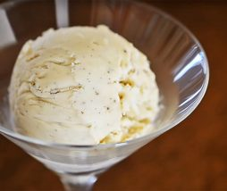 Receta de helado vegano