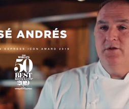 El cocinero José Ándrés reconocido por su trabajo