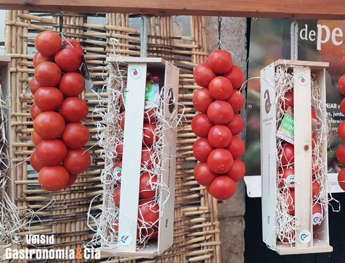 Mapa genético de los diferentes tipos de tomates
