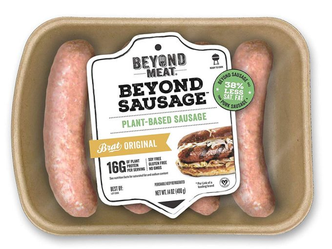 Nuevos productos vegetarianos de Beyond Meat