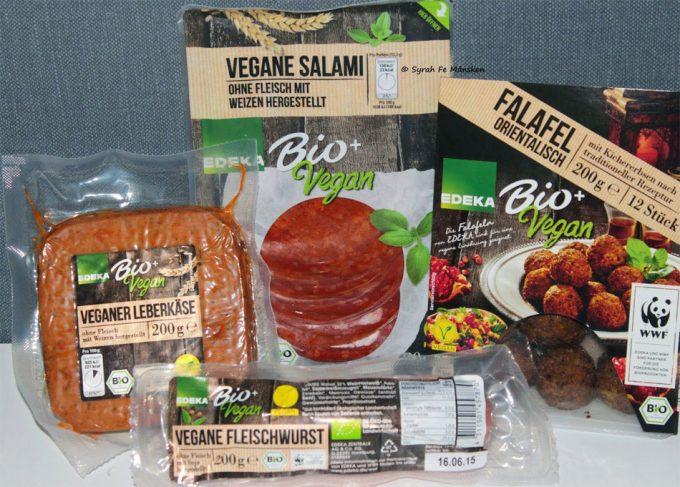 Alimentos veganos con términos de la industria cárnica