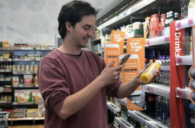 Supermercados inteligentes en Londres