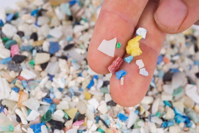 Microplásticos presentes en los alimentos