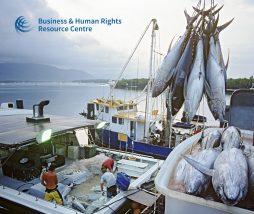 Trabajo esclavo en las empresas de pesca de atún