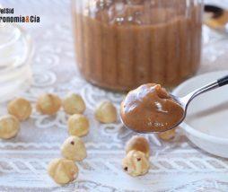 Salsa caramelo sin azúcar