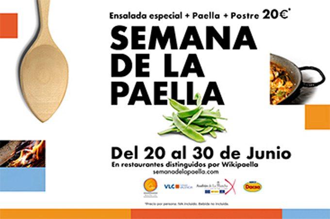 Jornadas gastronómicas en Valencia