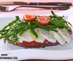 Receta de desayuno salado saludable y delicioso