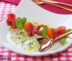 Receta de ajoblanco con anacardos