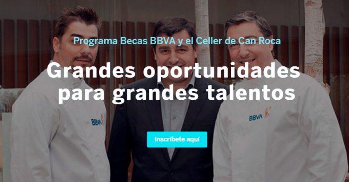 Becas BBVA - Celler de Can Roca