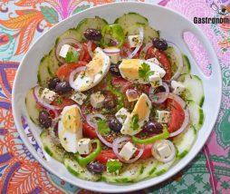 Uno de los platos más refrescantes y típicos de la cocina de Grecia