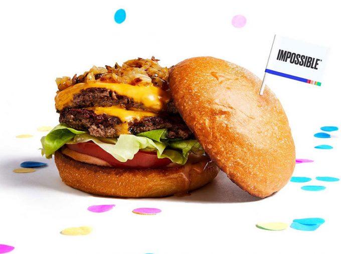 Hamburguesa imposible de Impossible Foods
