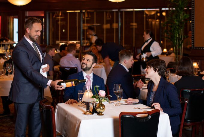 Listas de restaurantes de Wine Spectator