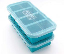 Cubiteras para congelar caldos y guisos en porciones