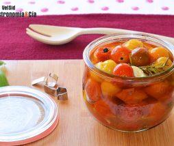 Receta de tomates confitados