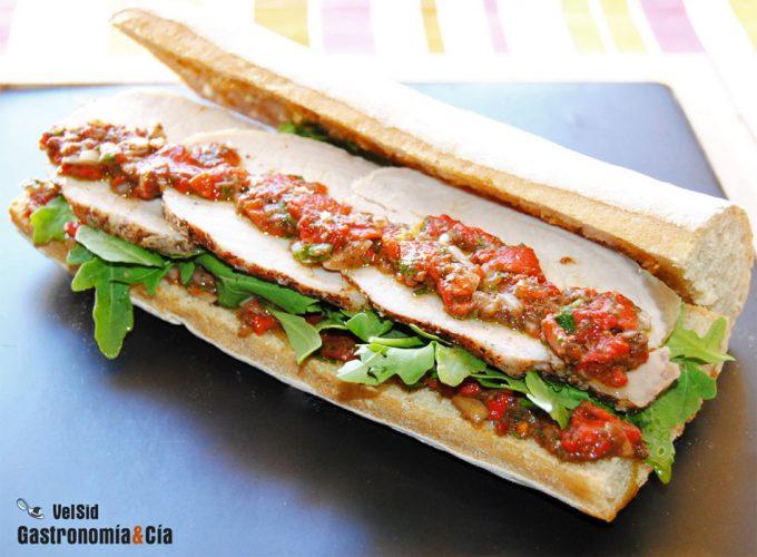 Recetas de bocadillos y sándwiches