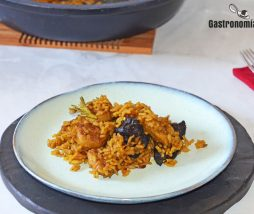 Receta de arroz con salchicha vegano