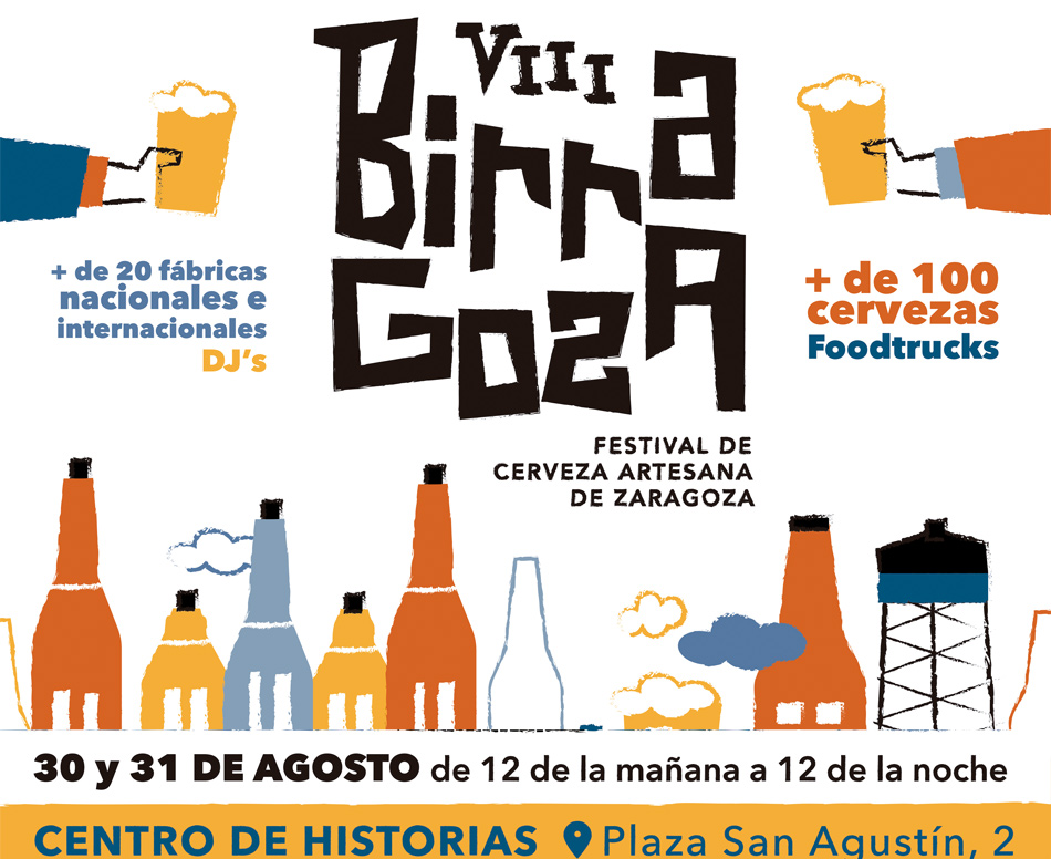 Birragoza 2019. Festival de la Cerveza Artesana de Zaragoza