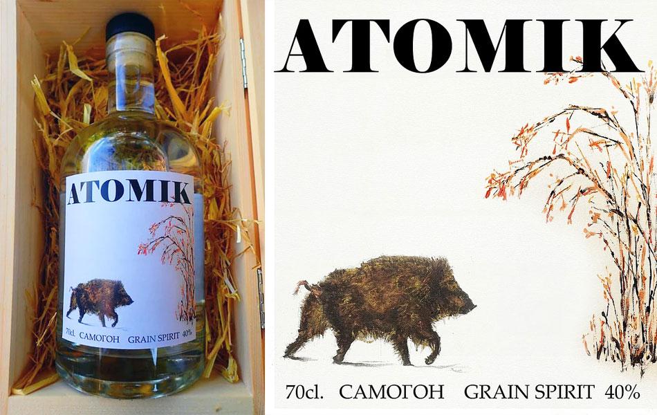 Atomik, nuevo vodka artesanal elaborado con granos cultivados en la zona de Chernobyl