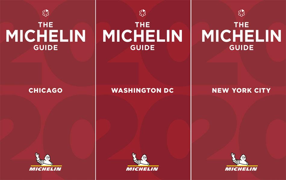 Calendario del lanzamiento de las Guías Michelin 2020 de Estados Unidos