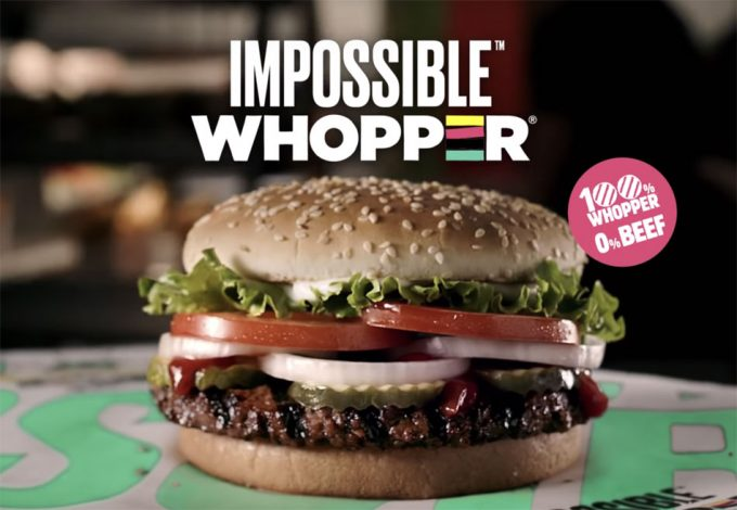 Hamburguesa imposible en Burger King