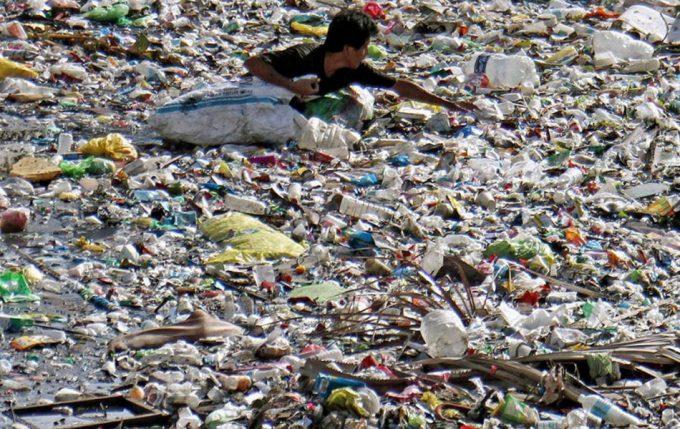 Contaminación plástica en el mundo