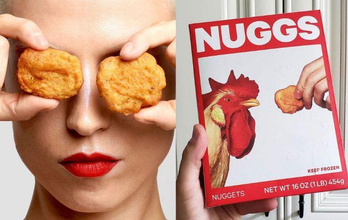 Nuggets vegetales de NUGGS