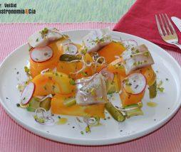 Receta de ensalada de tomate y arenque