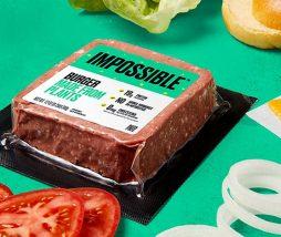 La Impossible Burger ya está disponible en supermercados estadounidenses