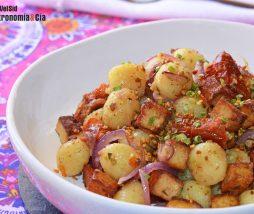 Gnocchi con tofu