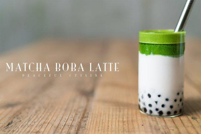 Cómo hacer un Matcha Bubble Tea o Matcha Boba Latte