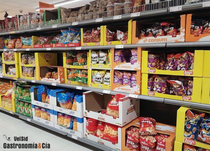 Leer las etiquetas de los productos alimenticios