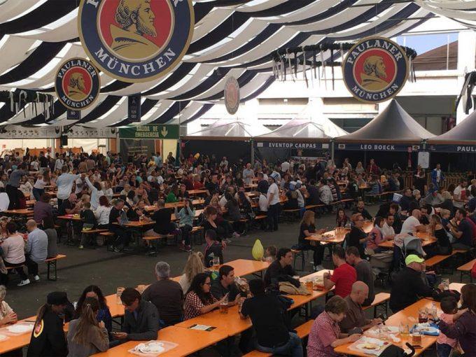 Fiesta de la cerveza en Barcelona
