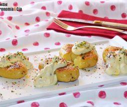 Patatas con salsa ligeras y nutritivas
