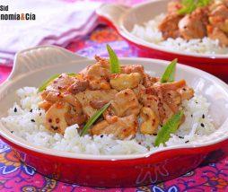 Receta de arroz con pollo y setas